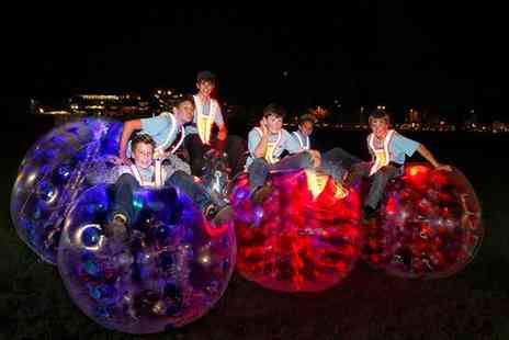 Krashball - Zorb Football Game with Glow in the Dark Option for Up to 15  - Save 0%