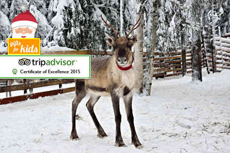 South Lakes Wild Animal Park - Safari entry for a family of two including Santa visit and adoption pack - Save 35%