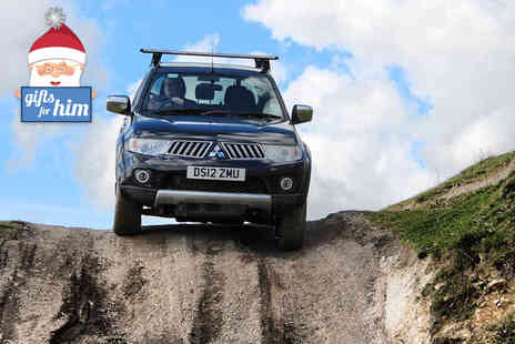 Into the Blue - One hour 4x4 off roading experience  - Save 51%