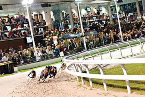 Drumbo Park - Greyhound Racing Admission with Burger and Beer - Save 85%