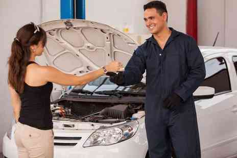 Ultimate Body Shop - Full winter car service including coolant, battery, tyre and light checks or an air conditioning re gassing   - Save 74%