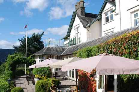 The Burnside Hotel - Overnight in Lake Windermere Retreat with Three Course Dinner and Canapes - Save 0%