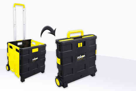 Rolson Tools - Folding boot cart organiser with a capacity of up to 25kg - Save 0%