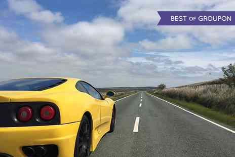 Golden Moments - 20 Minute Ferrari Driving Experience for One   - Save 0%