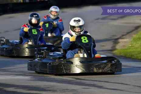 West Country Karting - 80 Go Karting Laps for One  - Save 75%