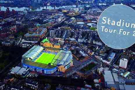 Chelsea Football Club -  Stamford Bridge Stadium Tour for Two - Save 0%