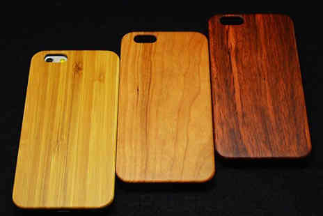 Crazee Trend - Wooden Style Case for iPhone 6 - Save 82%