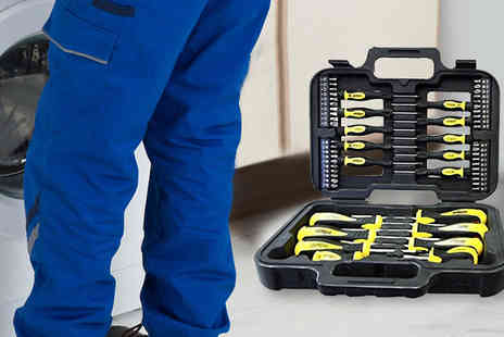 Harvey Robb - Rolson 58pc. Screwdriver And Bit Set - Save 63%