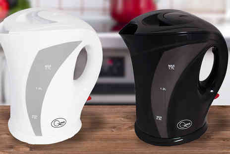 Harvey Robb - Quest 1.7L Cordless Kettle  Available in Two Colours - Save 57%