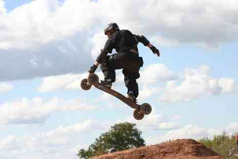 Ride the Hill - Two hour mountain boarding session - Save 55%