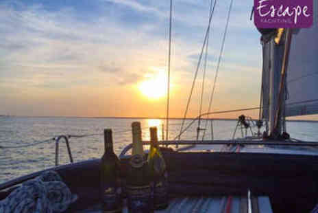 Escape Yachting - Solent Sailing Trip with Meal and Bubbly - Save 55%