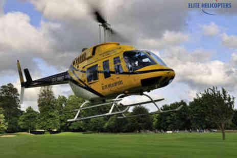 Elite Helicopters - Helicopter Experience - Save 0%
