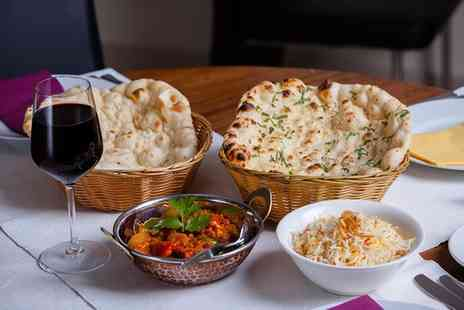 Curry Culture - Three Course Indian Meal with Wine for Two - Save 0%