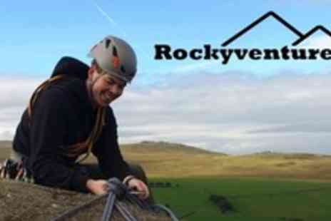Rockyventures - Half Day Climbing and Abseiling Session For Two - Save 70%