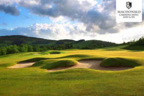 Macdonald Cardrona Hotel Golf and Spa - 18 Holes of Golf with Bacon Roll and Tea for Two - Save 81%