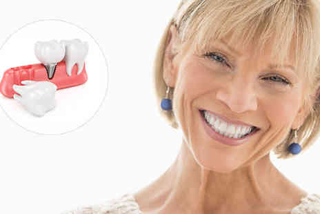 NW1 dental care - Dental Implant and Crown Treatment - Save 42%