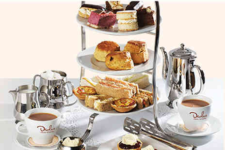 Patisserie Valerie - Festive afternoon tea for two  - Save 21%