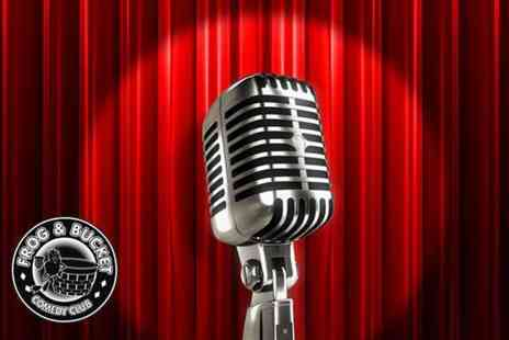 Frog and Bucket Comedy Club  - Thursday Night Live comedy show, burger and beer for two - Save 36%