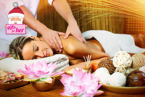 Healing Touch Academy - One hour pamper package including a hot oil eucalyptus back massage, facial steam - Save 82%