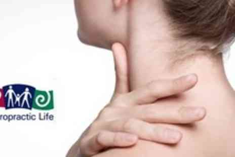Chiropractic Life - Two Chiropractic Treatments With Consultation - Save 75%