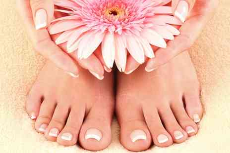 Nicholas Austen - Aveda Spa Manicure or Pedicure Plus - Save 30%