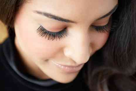 Skin and Tonic - Half or Full Set of Eyelash Extensions with Optional Eyebrow Tint and Shape - Save 0%