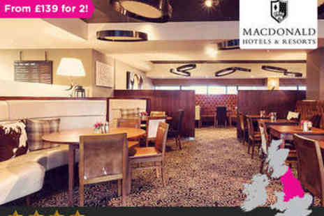 Macdonald Manchester Hotel and Spa - Overnight in Manchester Retreat plus Dinner - Save 0%