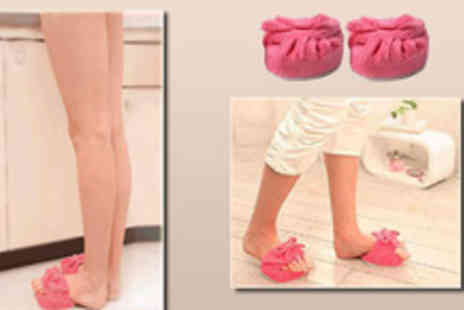 Gifts4u - Slimming and Leg Toning slippers Specially to help burn calories, promote blood circulation - Save 74%