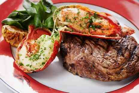 Boisdale of Bishopsgate - Steak and Lobster Meal with Fries and Prosecco for Up to Six - Save 54%