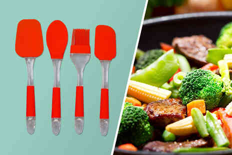 CK Collection - Four piece utensil set - Save 77%