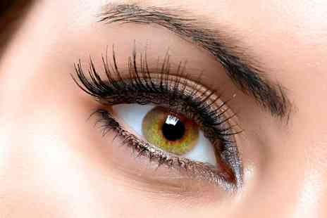 Boutique and Tanning - Eyelash Extensions With Brow Tint and Shape - Save 64%