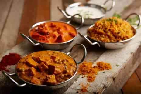 Mister Singhs India - Seven Dish Indian Taster Menu for Two or Four  - Save 56%