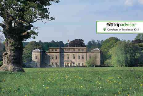 Ston Easton Park Hotel - Overnight Somerset stay for two with breakfast, chocolates and late checkout in a classic room - Save 41%