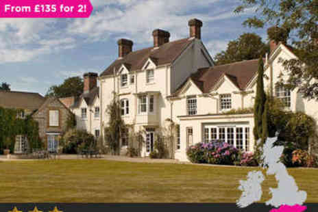Esseborne Manor - Overnight stay for two in a deluxe room Three Course Dinner - Save 0%