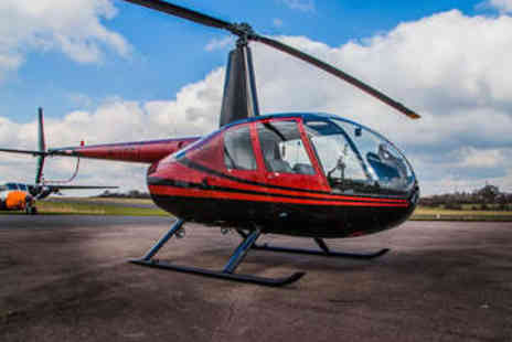 Flying Pig Helicopters - Helicopter Flying Experience for Two - Save 50%