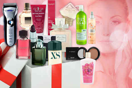Wowcher Direct -  Wowcher Mystery Beauty Deal for him or her  products include FCUK, Vera Wang, Braun, Miss Dior, Clarins, Gucci, St Tropez, Benetton, Burberry and more - Save 0%