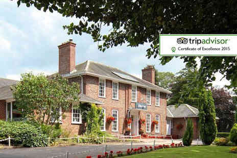 The Gables Hotel - Overnight Gretna stay for two with breakfast and late check out - Save 71%