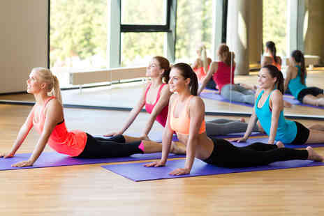 Fitness Fusions - One hour yoga, pilates, yoga pilates, kettle pilates or barre concept classes  - Save 44%