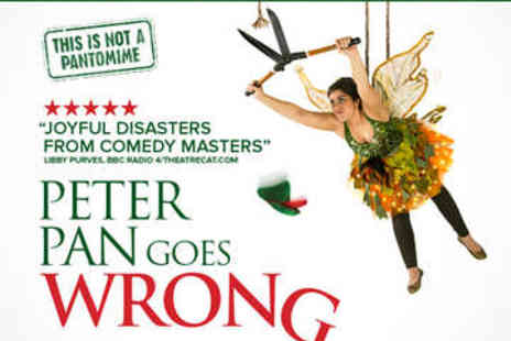 Apollo Theatre - Ticket to Peter Pan Goes Wrong plus Cafe Rouge Meal - Save 0%