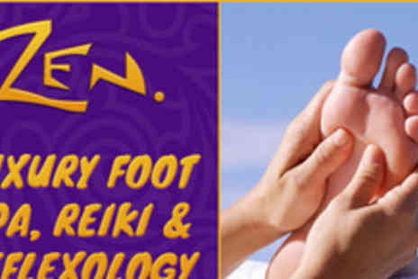 Zen Health & Beauty - Relax with a luxury Foot Spa, Reiki and Reflexology session - Save 60%