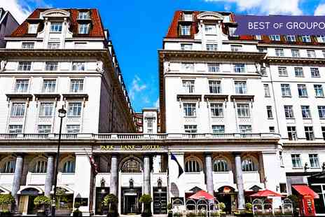 The Park Lane Hotel - Afternoon Tea with Optional Moët & Chandon Champagne for Two  - Save 47%