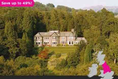 Merewood Country House Hotel - One night Lake Windermere Getaway for two - Save 49%