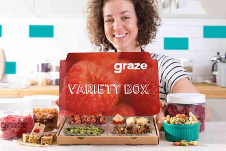 graze - First three snack boxes when you sign up to graze Plus Delivery Included - Save 60%