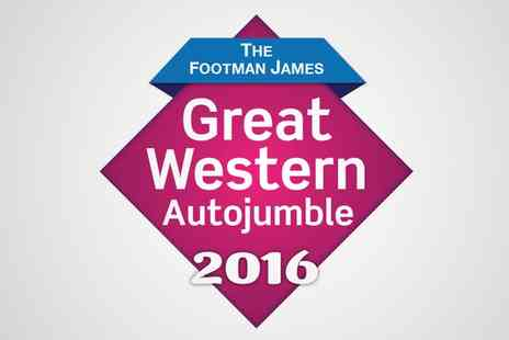 Great Western Autojumble - Two Tickets to The Footman James Great Western Autojumble - Save 39%