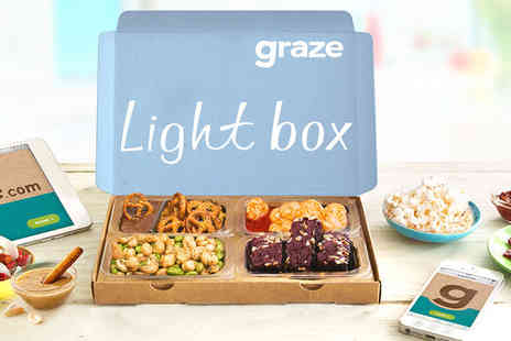 graze - First four snack boxes when you sign up to graze Plus DELIVERY INCLUDED  - Save 64%