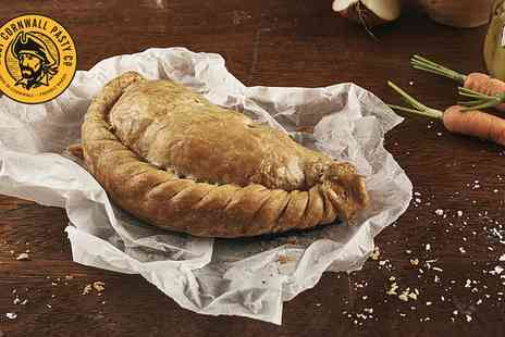 West Cornwall Pasty Co - Cornish Pasty, Potato Wedges and Soft Drink for One - Save 47%
