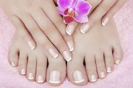 Serenity - Luxury Manicure, Pedicure or Both  - Save 53%