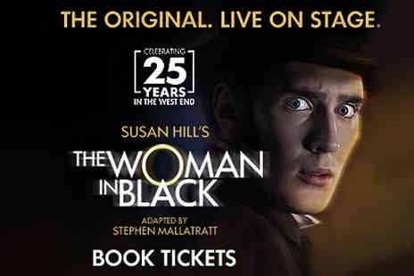 London theatre direct - Ticket for The Woman in Black, Fortune Theatre - Save 0%