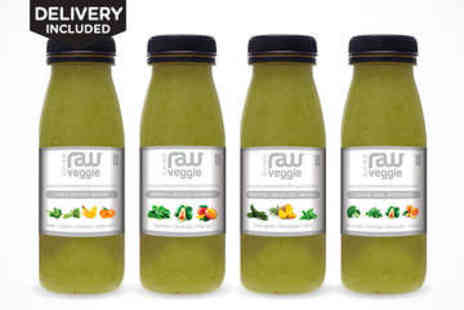 Tutti Fruity - Three Day Raw Smoothie Cleanse Package - Save 59%