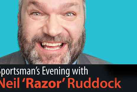 Frodsham Festivals - One ticket to an evening with Neil Ruddock including hot meal on 30 January 2016 - Save 36%